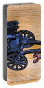 Antique Cast Iron Toy Portable Battery Charger