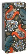 Art Deco Phone Case Portable Battery Charger