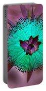 Artistic Bottle Brush Flower Portable Battery Charger