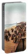 Atlantic City Boardwalk 1900 Portable Battery Charger