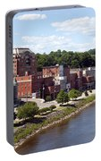 Augusta Maine Skyline Portable Battery Charger