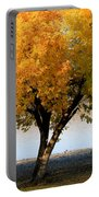 Autumn At The River Portable Battery Charger