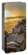 Avoriaz At Sunset Portable Battery Charger