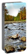 Babbling Brook Portable Battery Charger by Frozen in Time Fine Art Photography