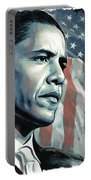 Barack Obama Artwork 2 Portable Battery Charger