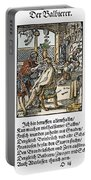 Barber-surgeon, 1568 Portable Battery Charger