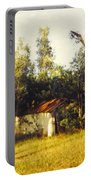Barn Landscape Portable Battery Charger