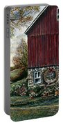 Barn Wreath Portable Battery Charger