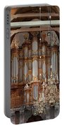 Baroque Grand Organ In Oude Kerk In Amsterdam Portable Battery Charger
