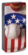 Baseball Dinner Portable Battery Charger