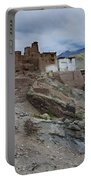 Basgo Monastery In Basgo Ladakh India Portable Battery Charger