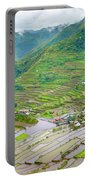 Batad Village And Unesco World Heritage Portable Battery Charger