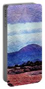 Beach As A Painting Portable Battery Charger