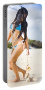 Beach Dreams Portable Battery Charger