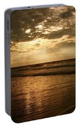 Beach Sunrise Portable Battery Charger by Nelson Watkins
