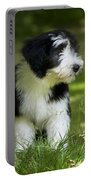 Bearded Collie Puppy Portable Battery Charger