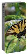 Beautiful Butterfly Pollination Portable Battery Charger