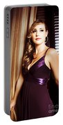 Beautiful Glamour Model Portable Battery Charger