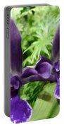 Beautiful Orchid Flower  Portable Battery Charger