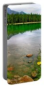 Beauvert Lake In Jasper Np-ab Portable Battery Charger