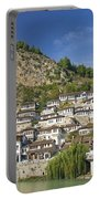 Berat Old Town In Albania Portable Battery Charger