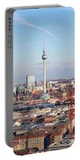 Berlin Cityscape Portable Battery Charger