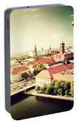Berlin Germany View On Major Landmarks Portable Battery Charger