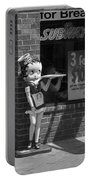 Betty Boop 1 Portable Battery Charger by Frank Romeo