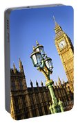 Big Ben And Palace Of Westminster Portable Battery Charger