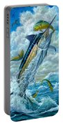 Big Jump Blue Marlin With Mahi Mahi Portable Battery Charger