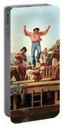 Bingham's The Jolly Flatboatmen Portable Battery Charger