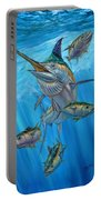 Black Marlin And Albacore Portable Battery Charger