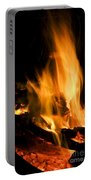 Blazing Campfire Portable Battery Charger