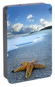 Blue Foam Starfish Portable Battery Charger