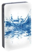 Blue Fresh Water  Portable Battery Charger