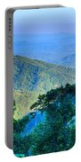 Blue Ridge Parkway National Park Sunset Scenic Mountains Summer  Portable Battery Charger