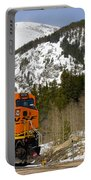 Bnsf Rolls Through Rollins Pass Colorado Portable Battery Charger