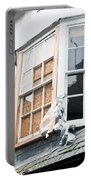 Boarded Up Window Portable Battery Charger