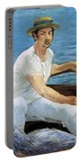 Boating Portable Battery Charger by Edouard Manet