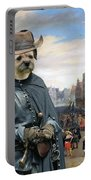 Border Terrier Art Canvas Print Portable Battery Charger