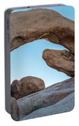 Boulders In A Desert, Joshua Tree Portable Battery Charger