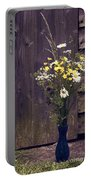 Bouquet Portable Battery Charger by Svetlana Sewell
