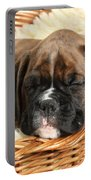 Boxer Puppy Portable Battery Charger
