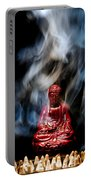 Buddha In Smoke Portable Battery Charger
