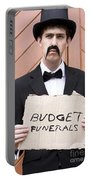 Budget Funerals Portable Battery Charger