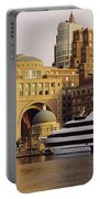 Buildings At The Waterfront, Boston Portable Battery Charger