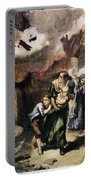 Burning Of Norfolk, 1776 Portable Battery Charger