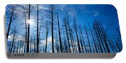 Burnt Pine Trees In A Forest, Grand Portable Battery Charger