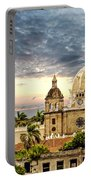 Clouds Over Cathedral Portable Battery Charger