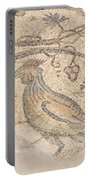 Byzantine Mosaic Depicting Animals And Hunting Scenes. Portable Battery Charger